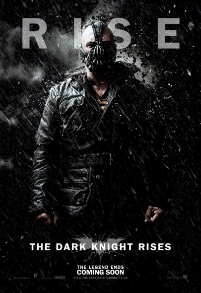 Bane in the rain