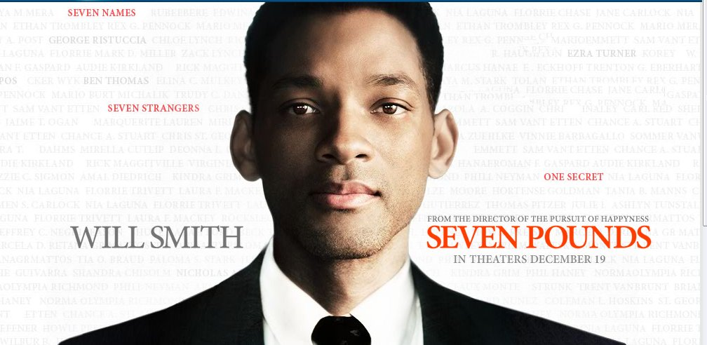 TBT: Seven Pounds (2008) | Thomas J
