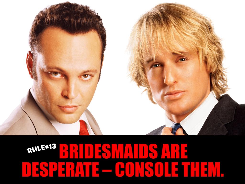 Tbt Wedding Crashers 2005 Thomas J