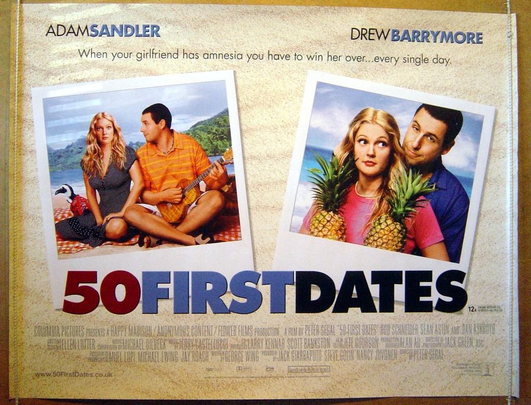 50 first date in Brisbane