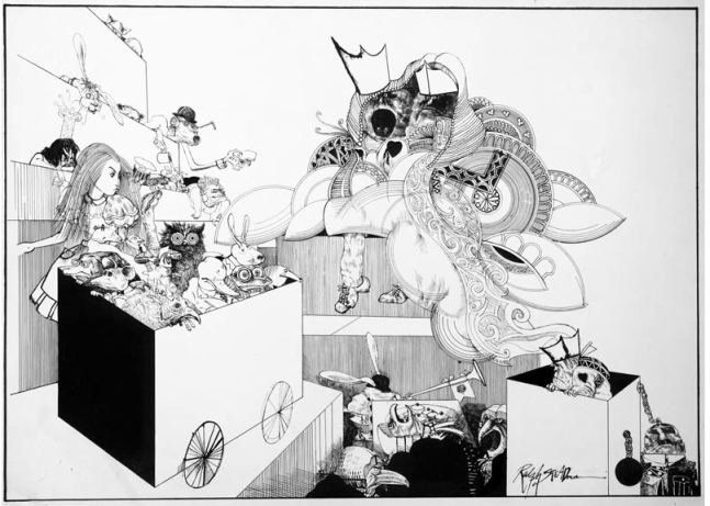 queen and alice ralph steadman