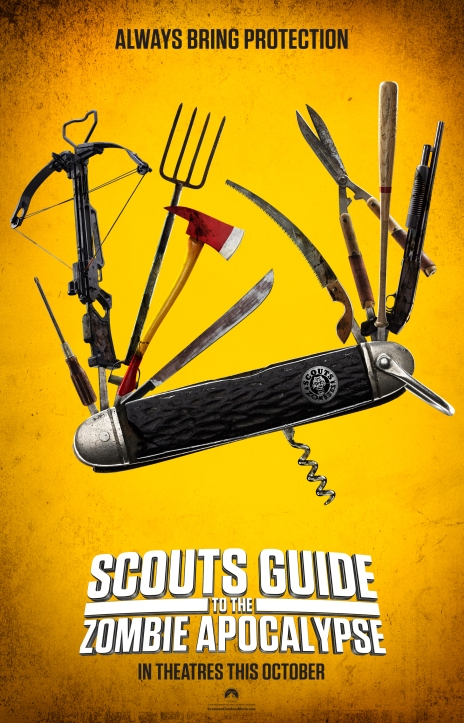 Scouts Guide movie poster