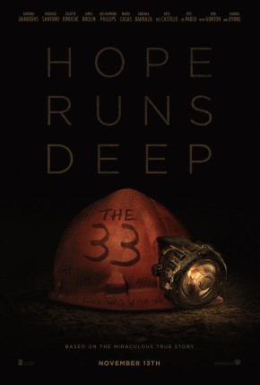 'The 33' movie poster