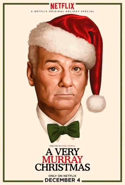 A Very Murray Christmas movie poster