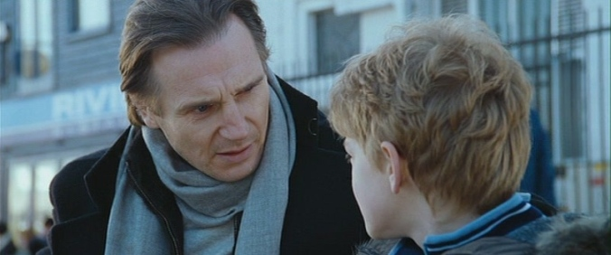 Liam Neeson and Thomas Brodie-Sangster in 'Love Actually'