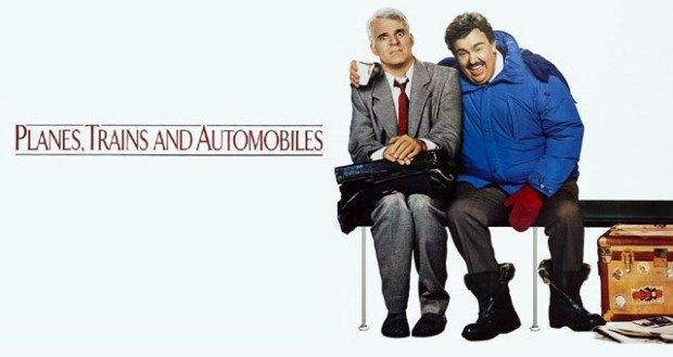 Planes Trains and Automobiles movie poster