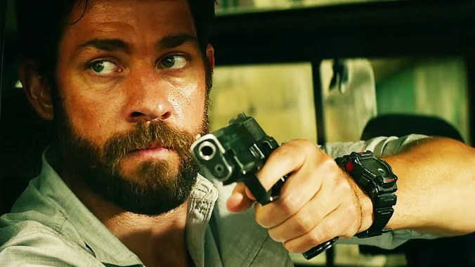 John Krasinski in '13 Hours - The Secret Soldiers of Benghazi'