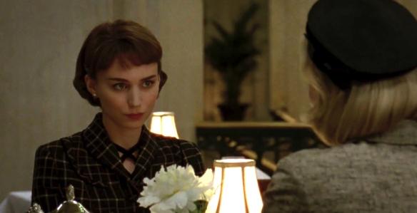 Rooney Mara as Therese Belivet in 'Carol'