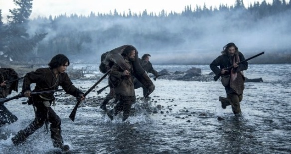 things start getting hectic in 'The Revenant'