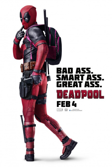 'Deadpool' movie poster