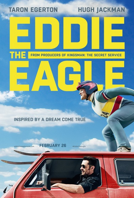 'Eddie the Eagle' movie poster