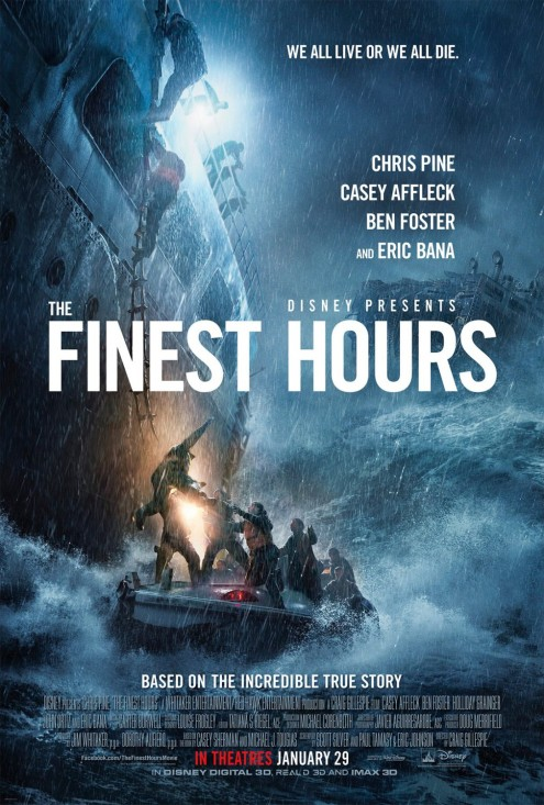 'The Finest Hours' movie poster