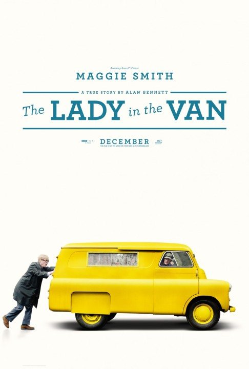 'The Lady in the Van' movie poster