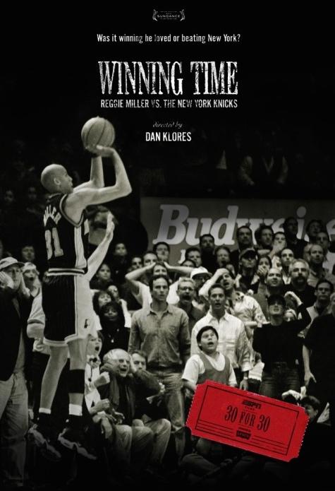 'Winning Time - Reggie Miller vs the New York Knicks' movie poster