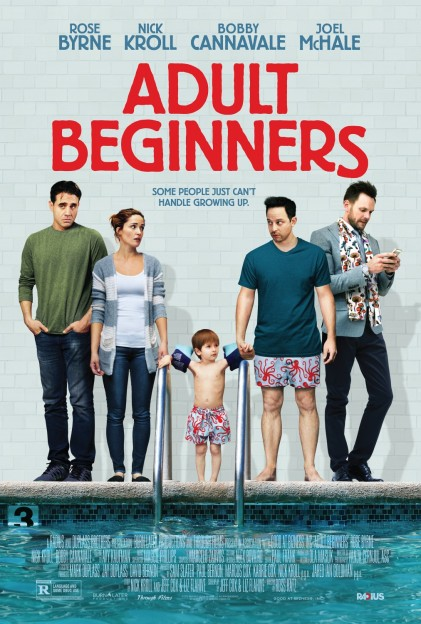 'Adult Beginners' movie poster