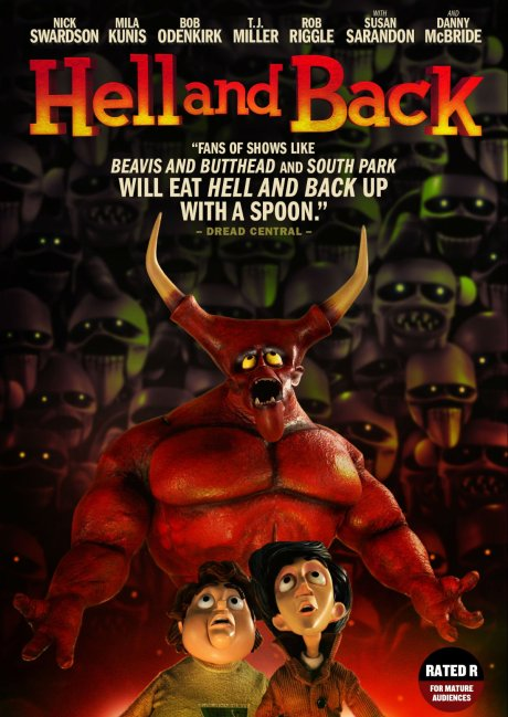 'Hell and Back' movie poster