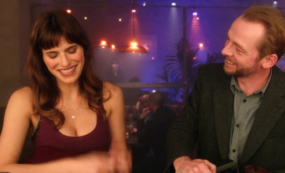 Lake Bell and Simon Pegg in 'Man Up'