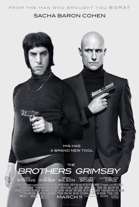 'The Brothers Grimsby' movie poster