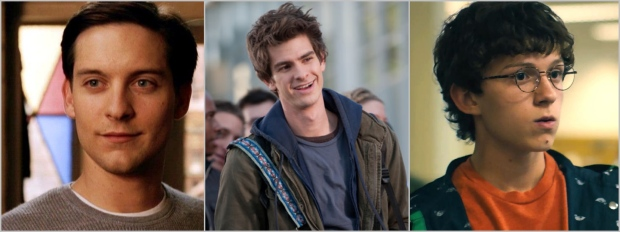 the many faces of Peter Parker