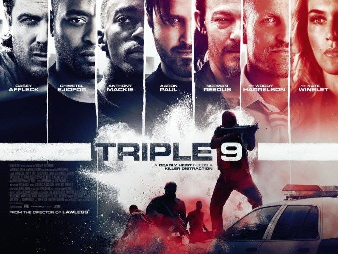 'Triple 9' movie poster