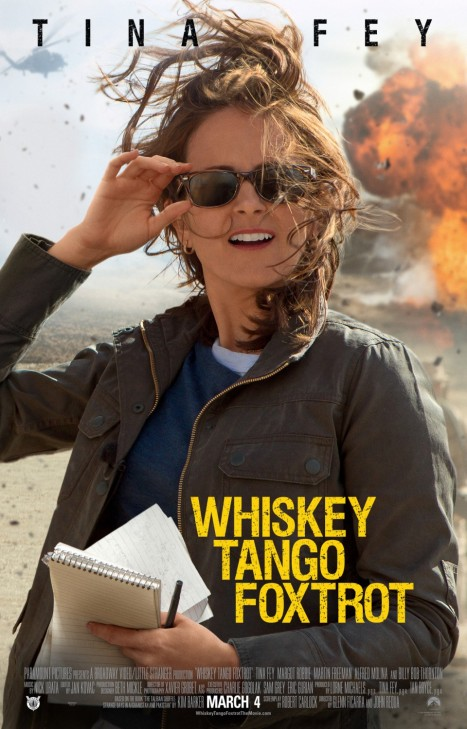 'Whiskey Tango Foxtrot' movie poster