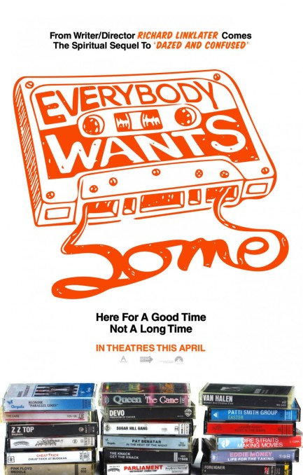 'Everybody Wants Some' movie poster