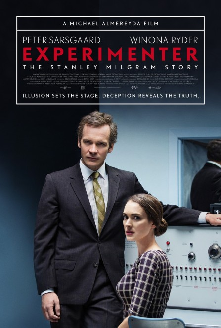 'Experimenter' movie poster