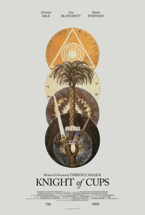 'Knight of Cups' movie poster