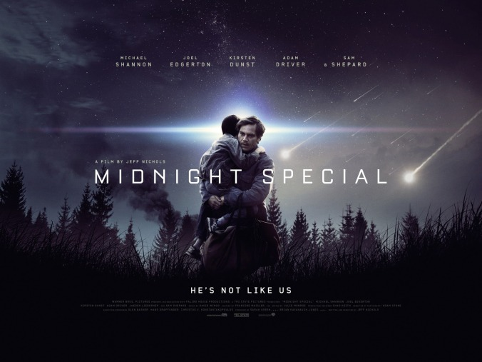 'Midnight Special' movie poster