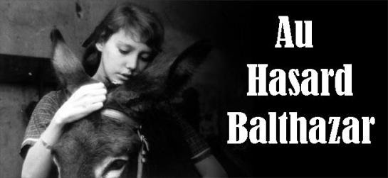 Anne Wiazemsky as Marie, with her donkey Balthazar,