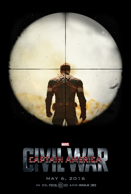 'Captain America - Civil War' movie poster