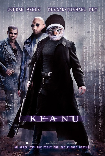 'Keanu' movie poster