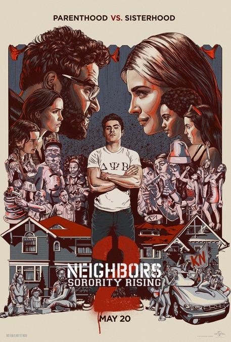 'Neighbors 2' movie poster
