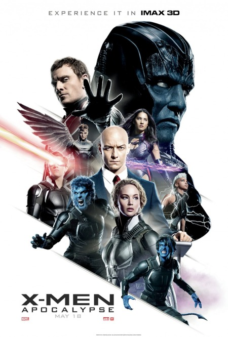 'X Men - Apocalypse' movie poster
