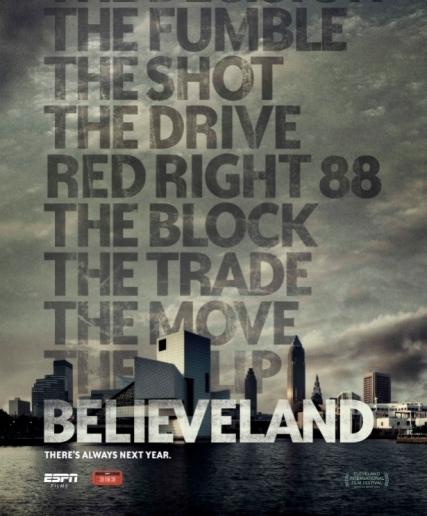 'Believeland' movie poster