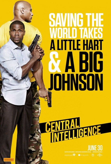 'Central Intelligence' movie poster