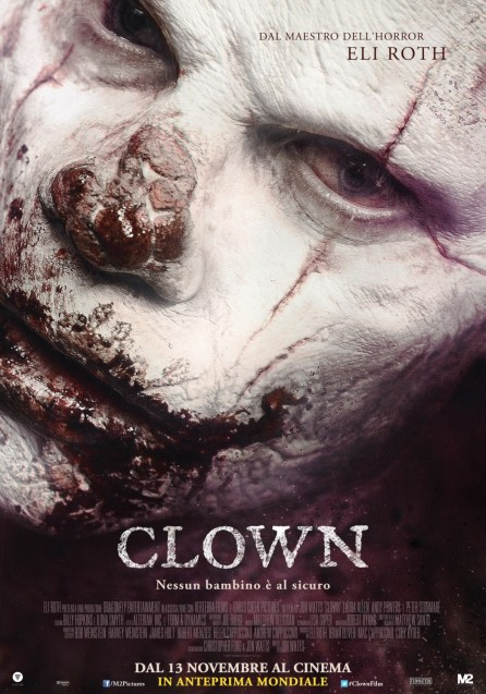 'Clown' movie poster