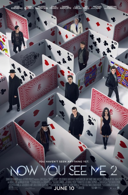 'Now You See Me 2' movie poster