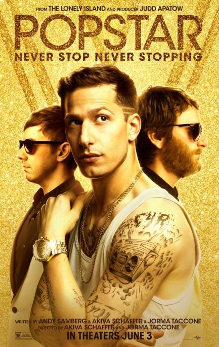 'Popstar' movie poster