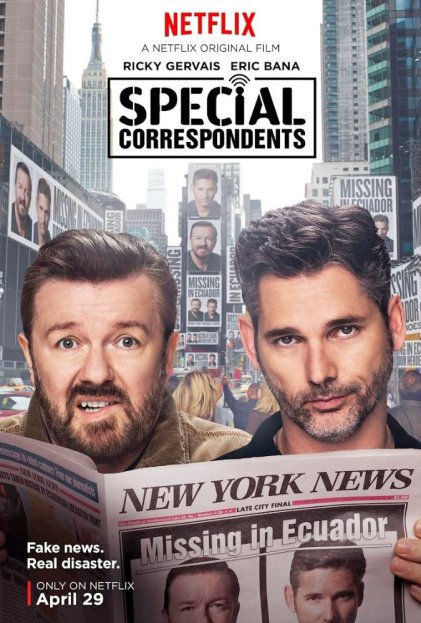 'Special Correspondents' movie poster