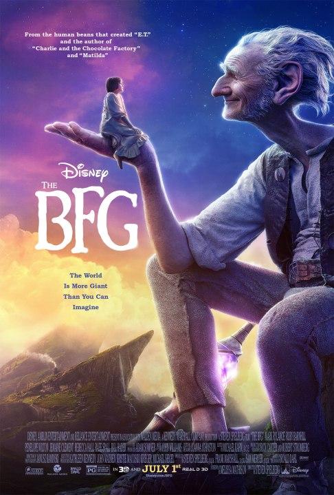 'The BFG' movie poster