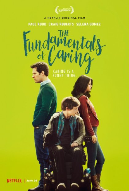 'The Fundamentals of Caring' movie poster