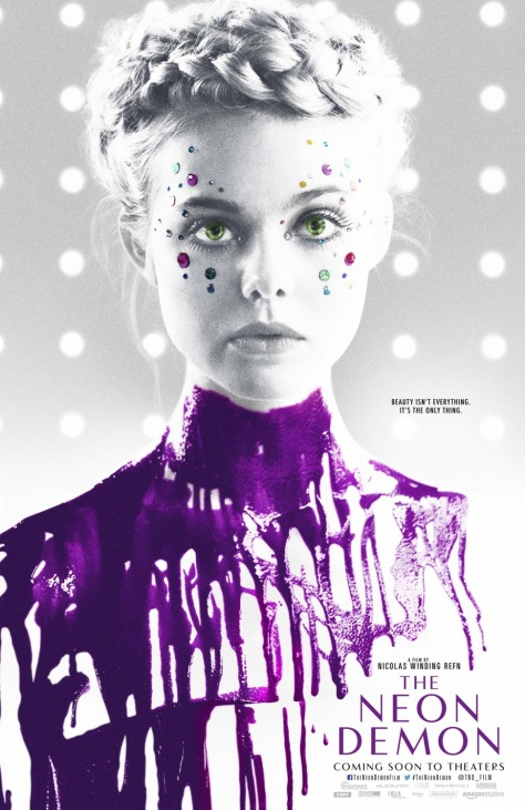 'The Neon Demon' movie poster