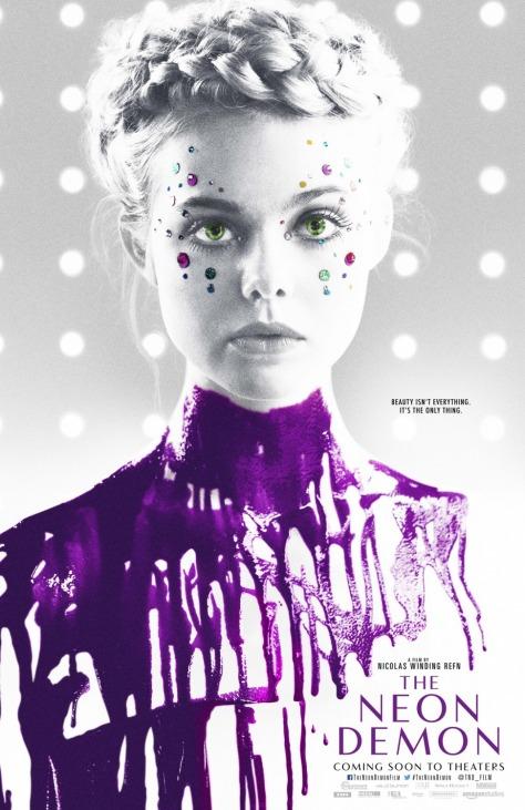 'The Neon Demon' movie poster