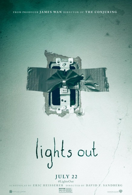 'Lights Out' movie poster
