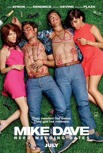 'Mike and Dave Need Wedding Dates' movie poster