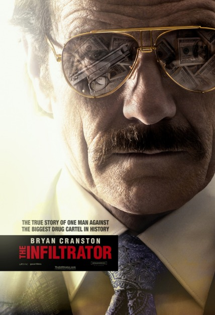 'The Infiltrator' movie poster
