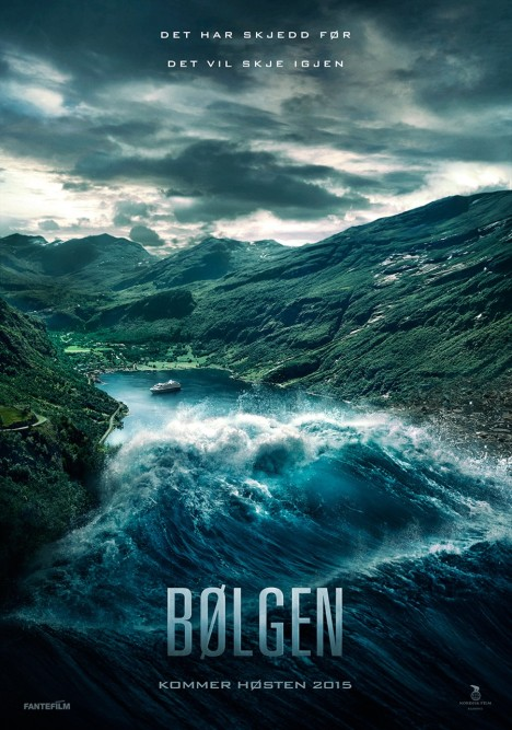 'Bølgen' movie poster