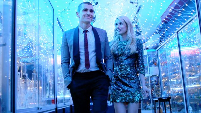 Dave Franco and Emma Roberts in 'Nerve'