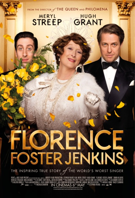 'Florence Foster Jenkins' movie poster